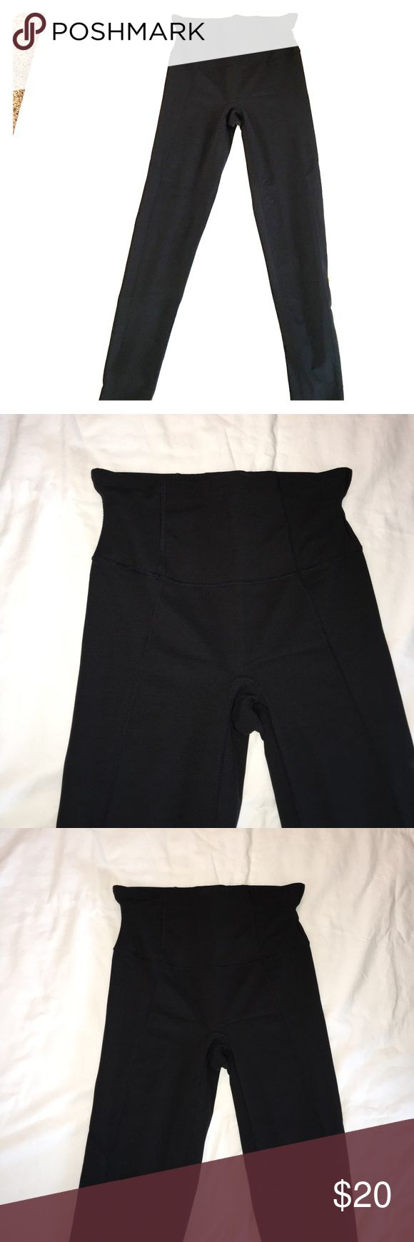 Spanx Black Leggings size XL In excellent condition, worn few times.  Black leggings from Spanx.  Size XL. SPANX Pants Leggings