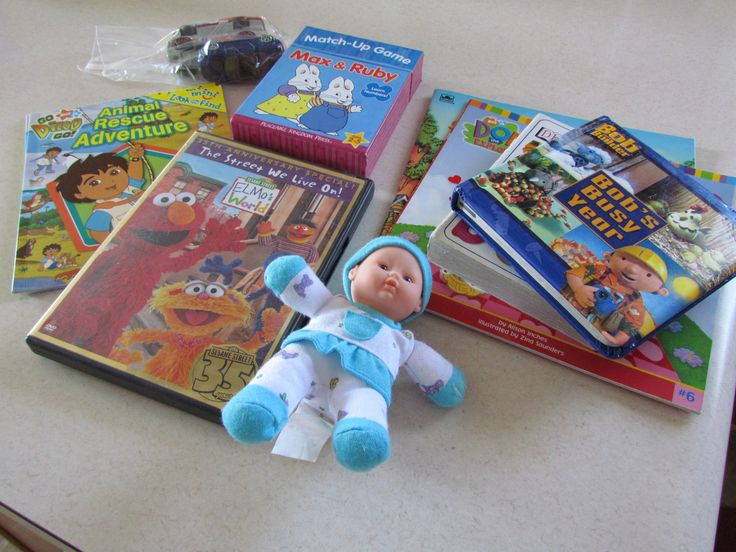 Nursing time box for older kids
