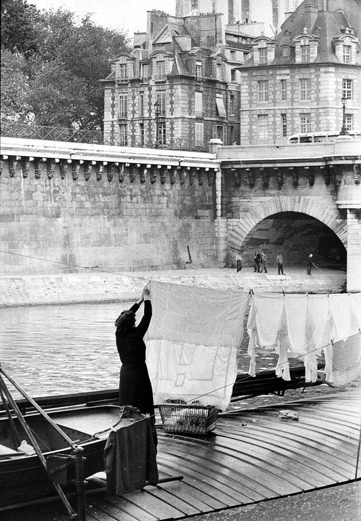 Le Pont-Neuf - Paris © Henri Cartier-Bresson / Magnum