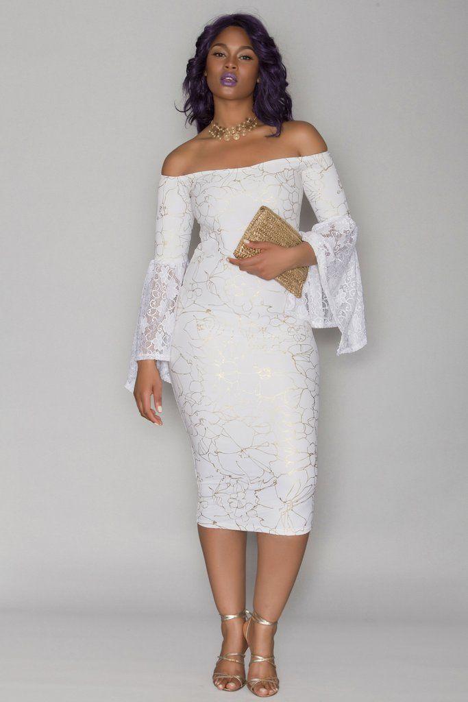 nu0027kechi dress white bridal shower