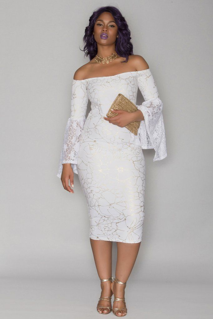 nu0027kechi dress white bridal shower