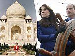2/6/17. Prince William and Kate Middleton 'WILL visit the Taj Mahal' when visiting India | Daily Mail Online