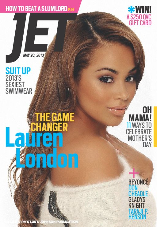 Oowee! Lauren London Covers Jet Magazine!