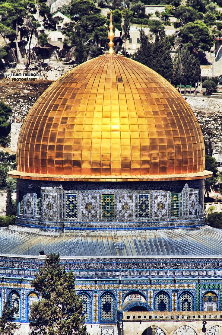 Al Aqsa Mosque, Jerusalem.  Fact:  The Royal Hashemite Family is the Rightful and Legal Custodian of al Aqsa Mosque. Therefore, King Abdullah of Jordan is bestowed with maintaining al Aqsa as one of Islam's Holiest and most significant places in the Muslim World.  You may ask yourself why this is a true fact. That is your job, research and teach yourself. God Protect King Abdullah of Jordan.