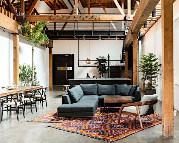 Warehouse turned into a loft office | Interior Design Ideas, Inpirations and Architecture | Interior Square
