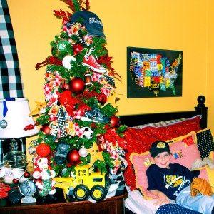 11 best Sports Theme Christmas Tree images on Pinterest   Tree ...