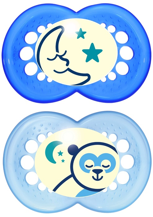 MAM Night 6+ Soother (Boy)