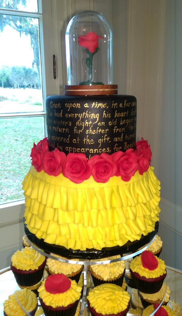 1000 Images About Disney S Beauty And The Beast Cakes On