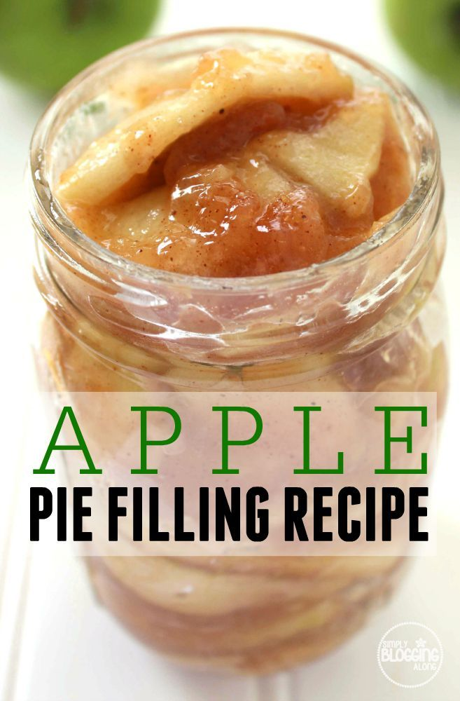 Want to make an apples recipe that kids love? Check out this easy apple pie filling recipe!
