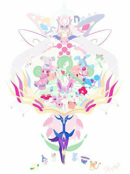 25 Melhores Ideias De Todos Os Pokemon Tipo Fada No