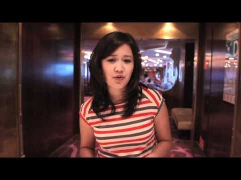 Natalie Tran in the Caribbean with Lonely Planet
