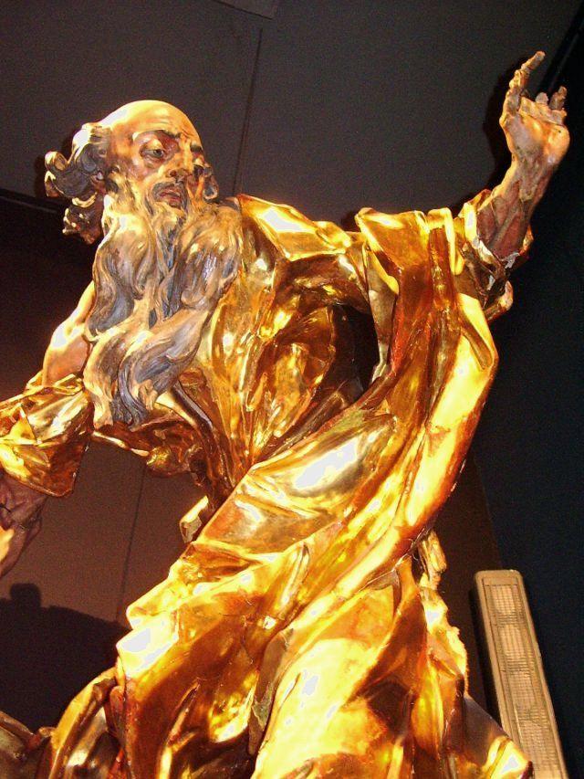Іван Георгій Пінзель, Pinzel, Ukrainian Baroque Gilded wooden sculpture