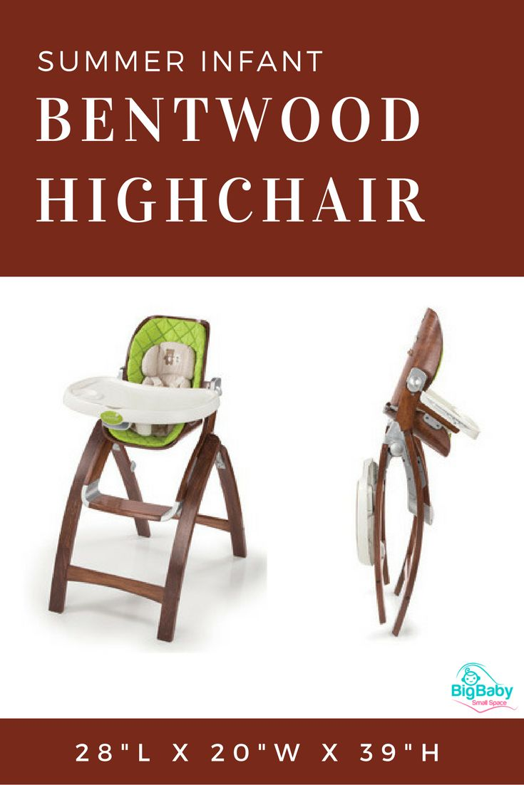The Summer Infant Bentwood Highchair Provides A Beautiful, Safe Place For  Your Baby To Eat