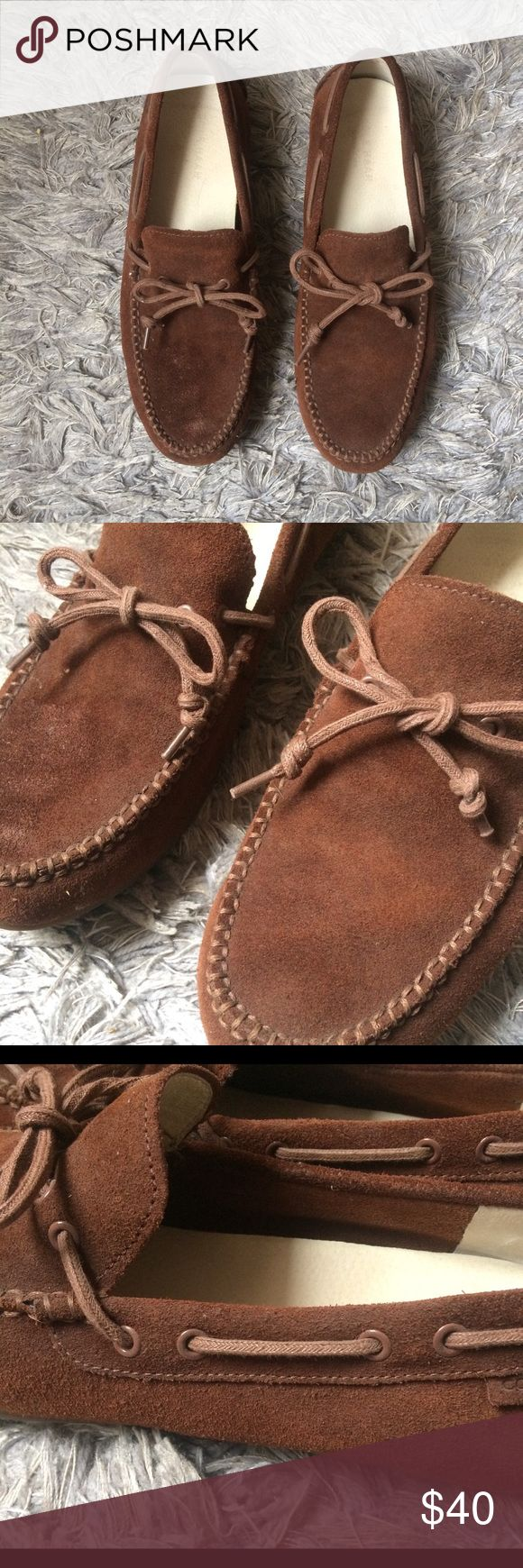 Cole Haan Men's Brown Loafers Boat Shoes Cole Haan Men's Brown Loafers Boat Shoes. In great condition. Worn twice. Cole Haan Shoes Boat Shoes