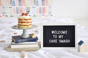 WELCOME TO MY CAKE SMASH|バースデーパーティー事例|ファーストバースデー|誕生日|first birthday| birthday|1歳|男の子|女の子|ARCH DAYS