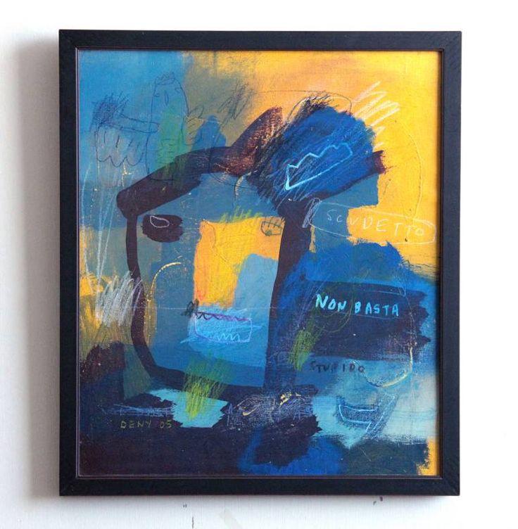 "Saatchi Art Artist deny pribadi; Painting, ""stupido"" #art"