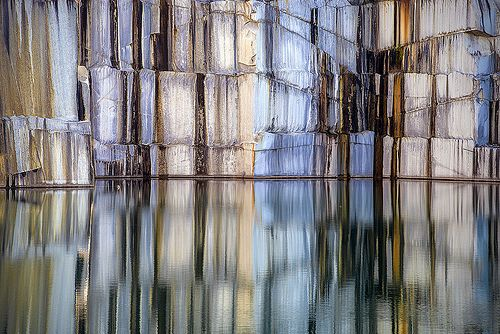 Granite Quarry in Graniteville, Vermont. Nature in its most breath taking form