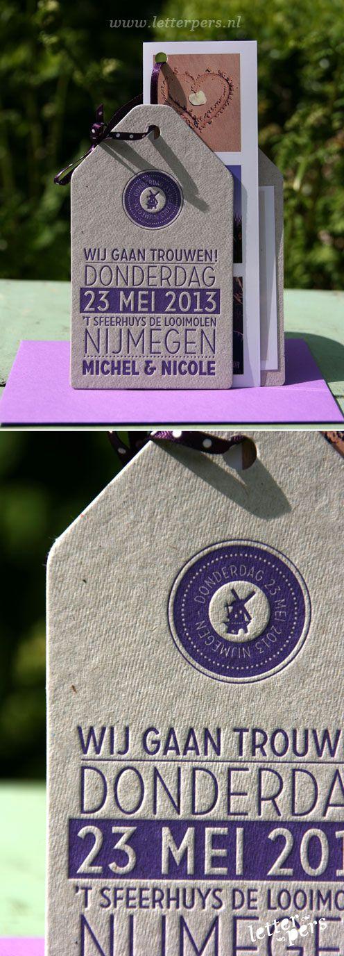 letterpers_letterpress_trouwkaart_Michel_Nicole_label_tag_wedding