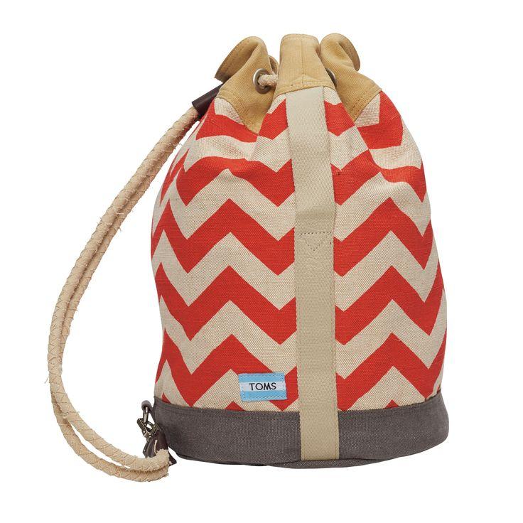 Τσάντα σε στιλ πουγκί TOMS