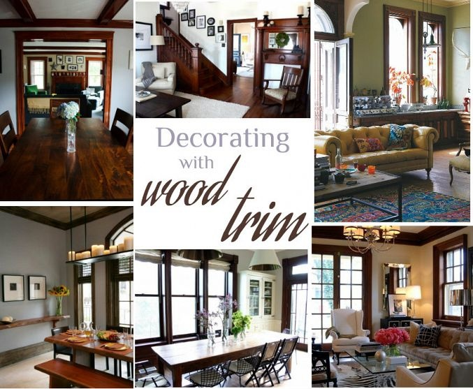 Living Room Colors With Wood Trim 60 best decorating with wood trim images on pinterest | dark wood