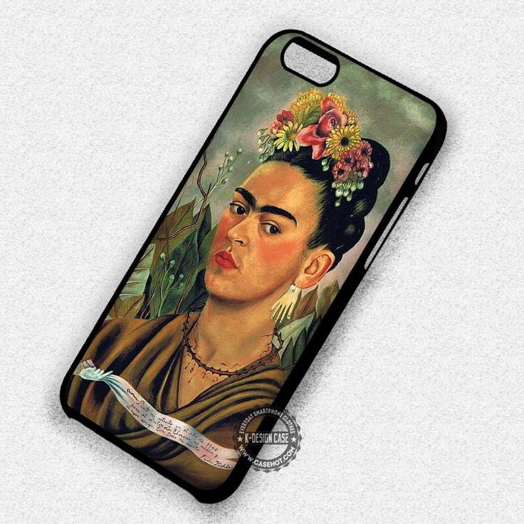 Woman Self Potrait Frida Kahlo - iPhone 7 6s 5c 4s SE Cases & Covers