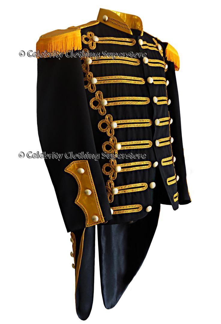 Men's Ring Leader/Miliary Jacket