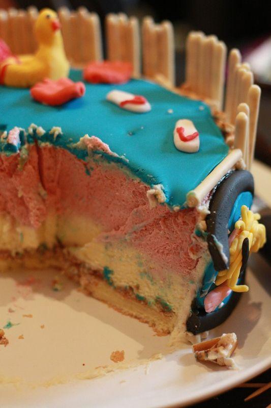 Les 132 meilleures images propos de birthday funny cakes sur pinterest g teau en forme d - Piscine bassins anniversaire versailles ...