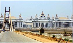 Naypyidaw - Assembly of the Union complex
