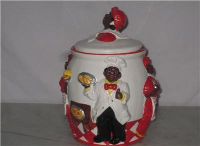 Aunt Jemima Antiques | Details about Vintage Aunt Jemima Cookie Jar Black Americana Rare Old ...