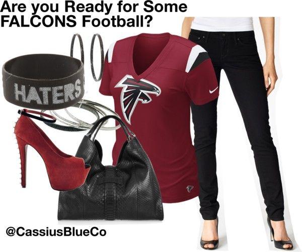 """""""Atlanta Falcons Football!"""" by cassiusblueco on Polyvore"""