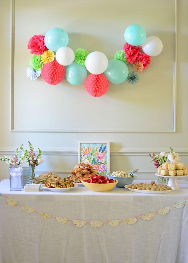 Simple party decor