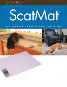Scat Mat - trains with little zaps