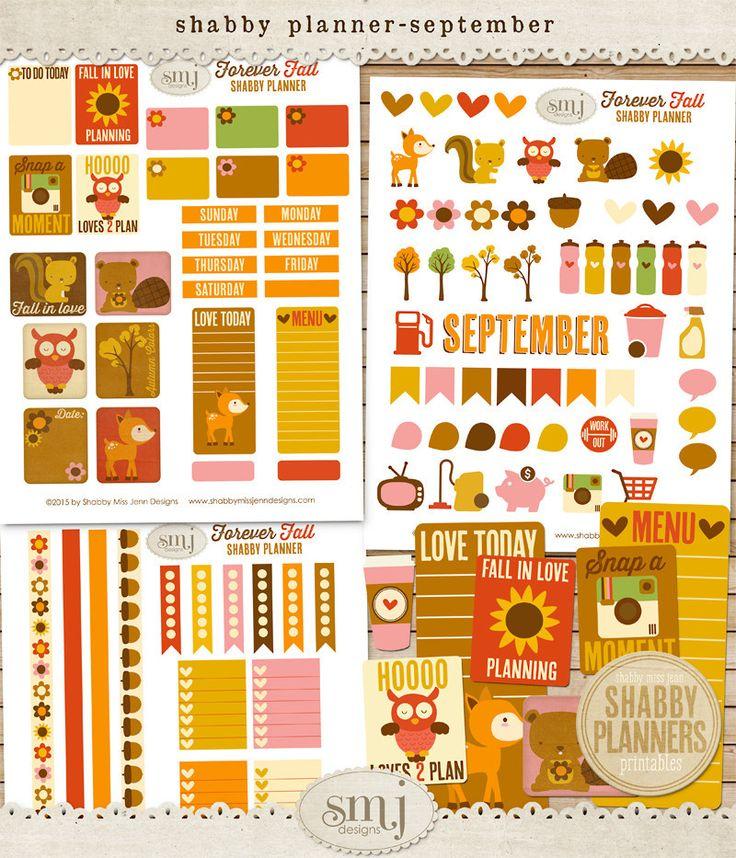 September Forever Fall Planner