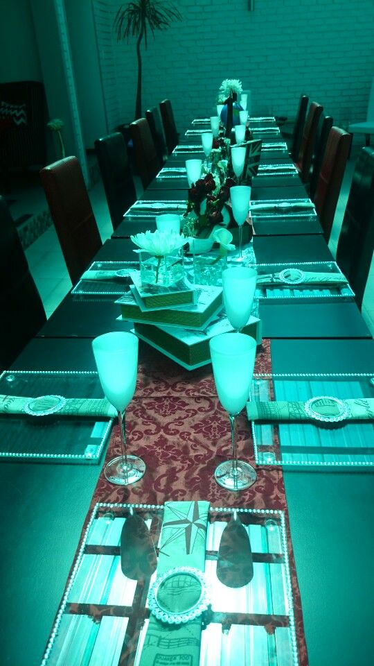 Airhostess bridal elegent setup