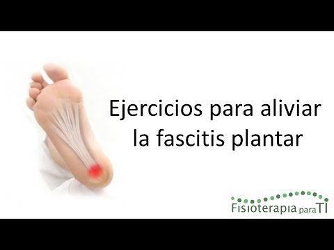 Ejercicios para aliviar la fascitis plantar | Salud