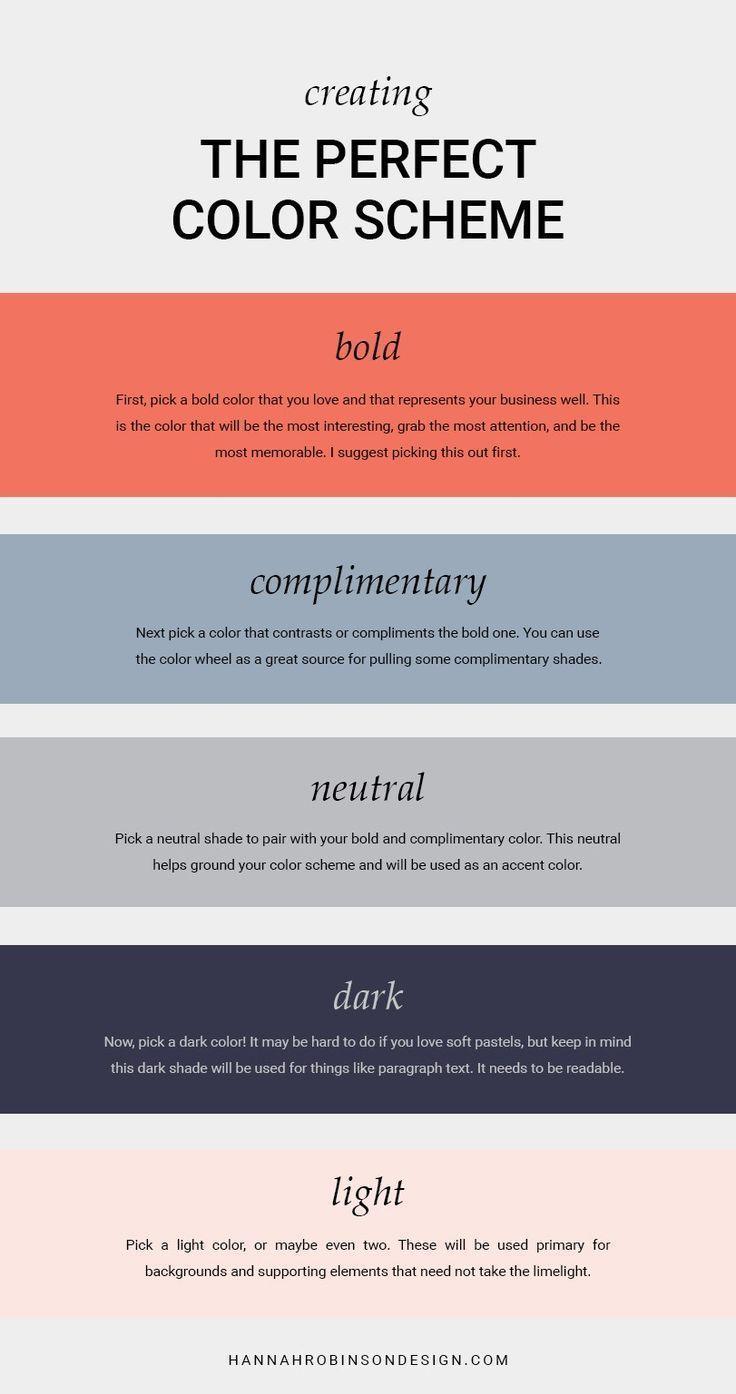 Color Schemes for your artist website