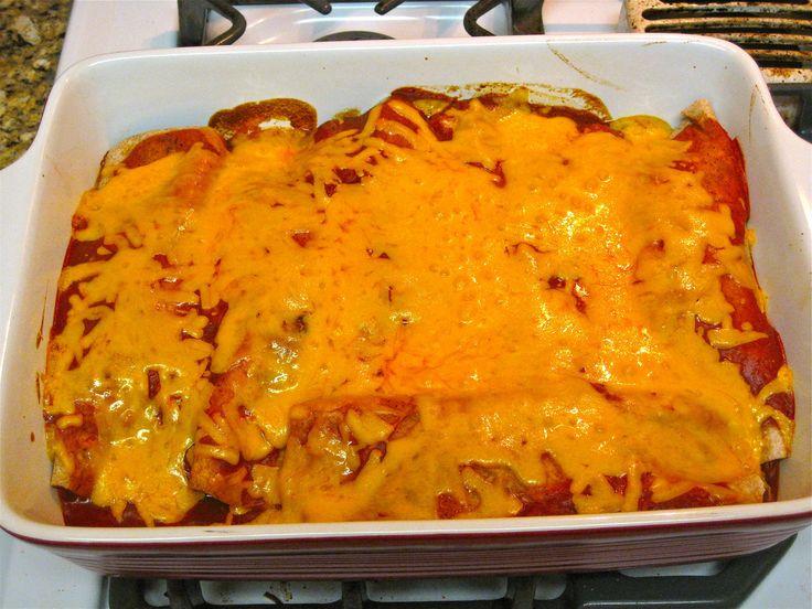 Bethenny Frankel chicken enchiladas. I make once per week!