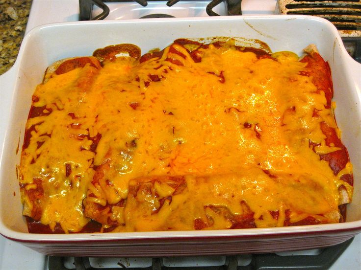 Bethenny Frankel chicken enchiladas. I make once per week!