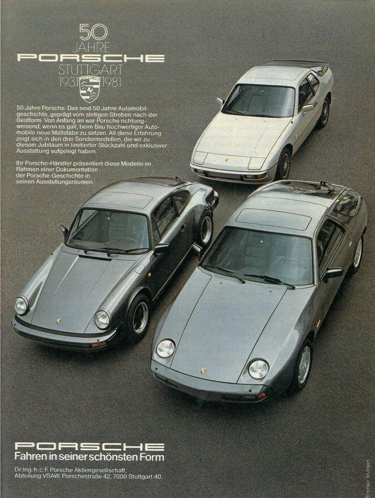 50 Jahre Porsche 1931–1981