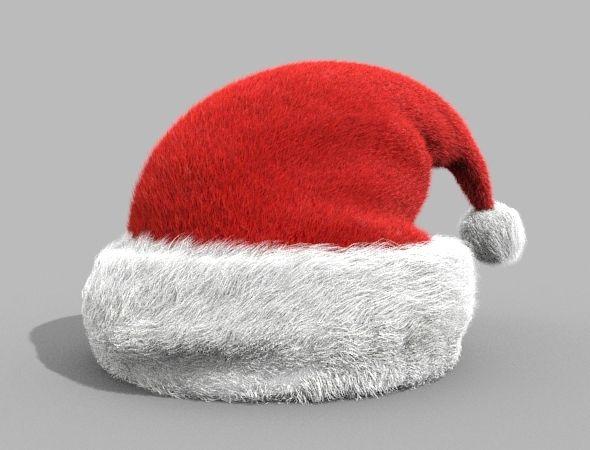 Santa Hat Santa Hat Hats Flower Symbol