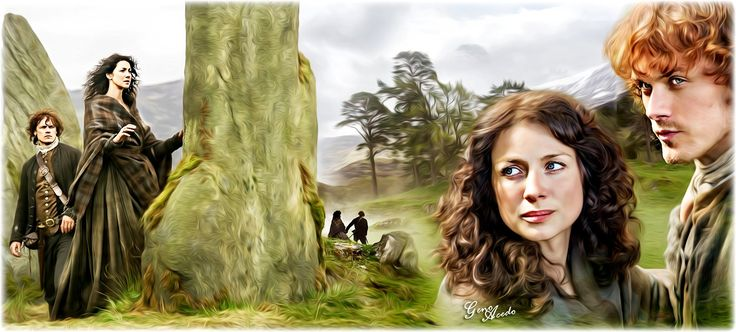 """Geno Acedo on Twitter: """"Jamie and Claire... @Outlander_STARZ @samheughan @caitrionambalfe"""