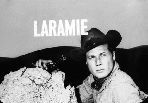 JOHN SMITH FROM LARAMIE LOGO TV WESTERN 8X10 PHOTO