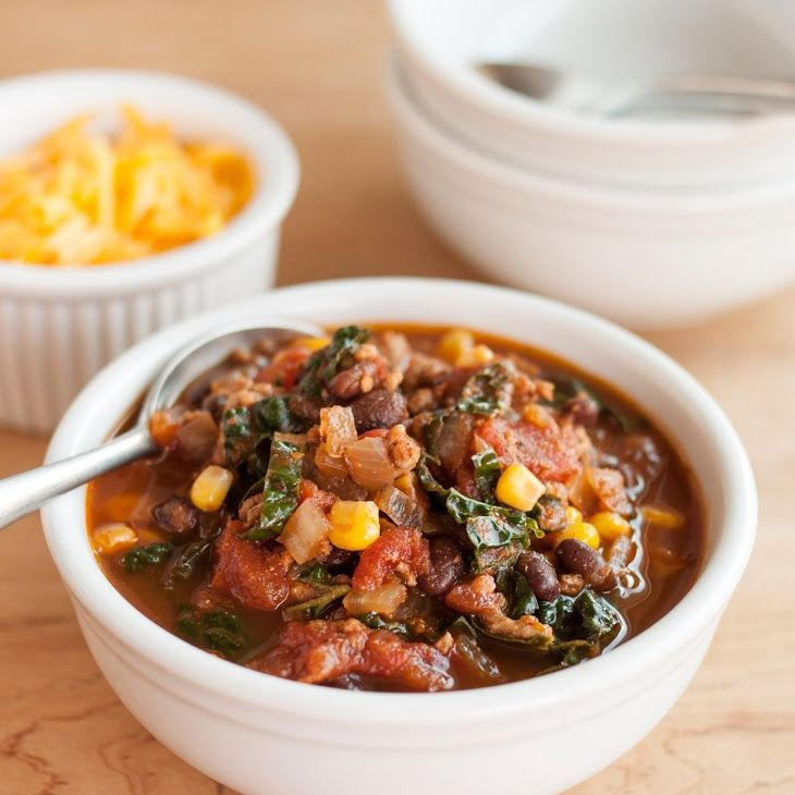 ... about Kale on Pinterest | 16 bean soup, Braised chicken and Soups