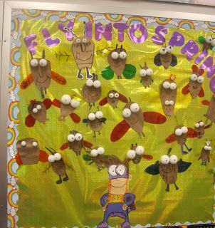 Fly Guy By Tedd Arnold Bulletin BoardGrade Kids, Bulletin Boards, Arnold Bulletin, Book Activities, Kids Book, Primary Grade, Author Study, Tedd Arnold, Fly Guys