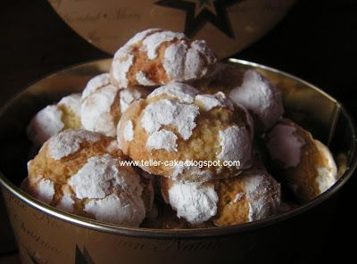 teller-cake: Citromos-kókuszos pöfeteg