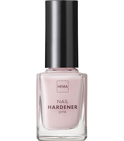 nail hardener - HEMA // Nagelverharder met een roze finish