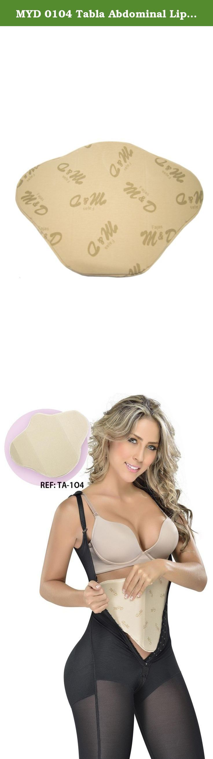 MYD 0104 Tabla Abdominal Liposuction Board Liposuction Compression Garments Beige One size. Shape your body with the most comfortable shapewear for women available! Butterfly shaped Abdominal Support Board with luxury styling and the latest technology for control and compression garments: Perfect for everyday use. This abdominal lipo board has a comfortable foam padding, and neutral color. Special for flattening abdominal skin after liposuction. The abdominal board is perfect to use like...