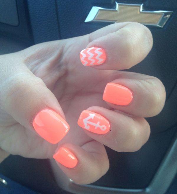 anchor nail art-38