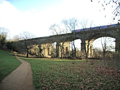 The Viaduct at  Hanwell W.7.: The Bunny Park.