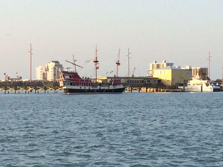 Pirate ship~South Padre Island, Tx~2014 | South Padre ...
